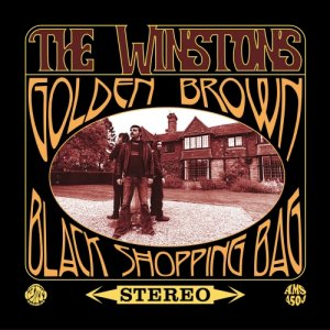 The Winstons Golden Brown/Black Shopping Bag copertina