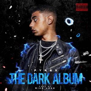 Dark Polo Gang Pyrex - The Dark Album copertina