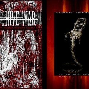 album Hive War / Plague Bearer - Split