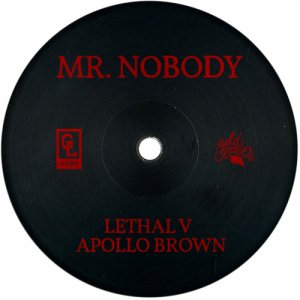 album Mr. Nobody (Prod. Apollo Brown) - Lethal V