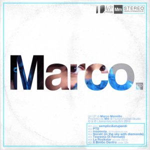 album Marco. EP - Marco Mm Mennillo