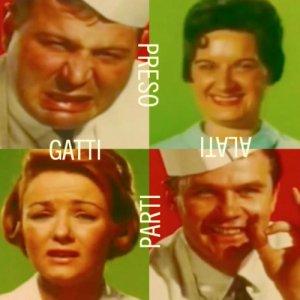 album Preso parti (Singolo) - Gatti Alati