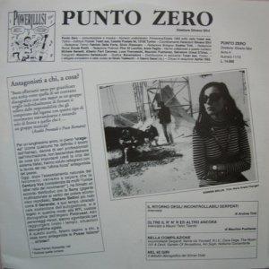 album Various – Punto Zero Numero 11/12 - Compilation