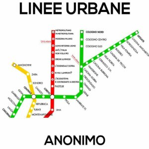 album LINEE URBANE - Anonimo Lombardo
