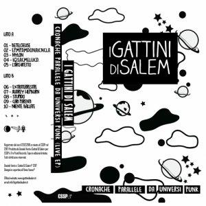 album Cronache Parallele Da Universi Punk (Tape/EP) - I Gattini Di Salem