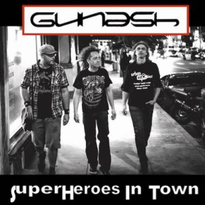 album SuperHeroes In Town - Gunash