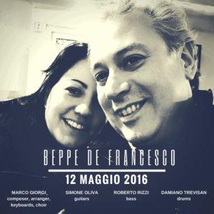 album Brano di debutto - Beppe De Francesco