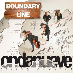 album Boundary Line - Ondanueve String Quartet