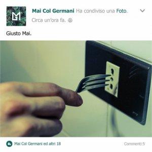 album Giusto Mai - Mai Col Germani