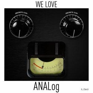 album We Love ANALog - A.J.Over
