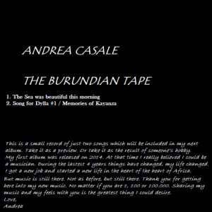 album The Burundian Tape - Andrea Casale