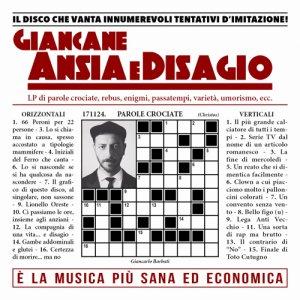 album Ansia e Disagio - Giancane