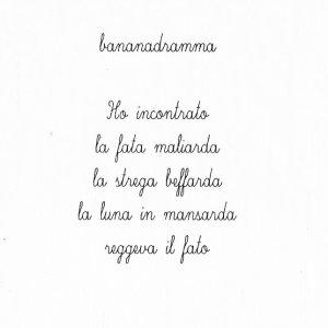 album bananadramma - giuseppe maria majno