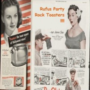 album Rock Toasters - Rufus Party