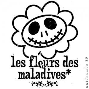 album Antinomìe EP - les Fleurs des Maladives