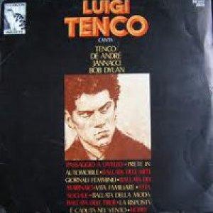 album Luigi Tenco canta Tenco, De Andrè, Jannacci, Bob Dylan - Luigi Tenco