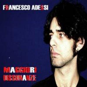 album Maggiori Dissonanze - Francesco Adessi