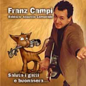 album Saluta i gatti e buonasera - Franz Campi