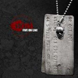 Copertina dell'album Five Online, di Litfiba
