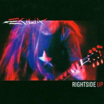 Copertina dell'album Rightside up, di Exilia