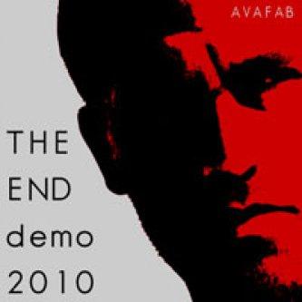 Copertina dell'album The End (a lo-fi demotape), di Fabrizio Avantaggiato
