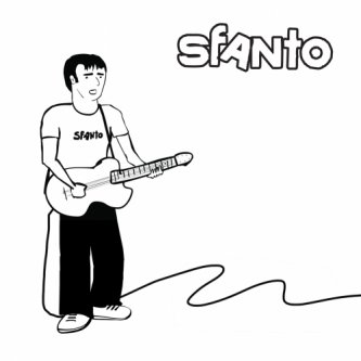 Copertina dell'album SFANTO, di Sfanto