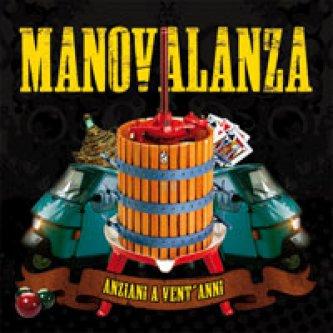 Copertina dell'album Anziani a vent'anni, di Manovalanza
