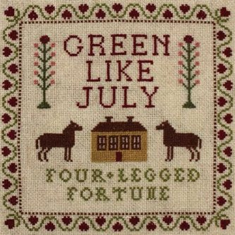Copertina dell'album Four-legged fortune, di Green like july