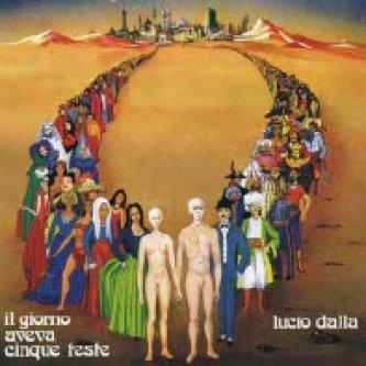Copertina dell'album Il giorno aveva cinque teste, di Lucio Dalla