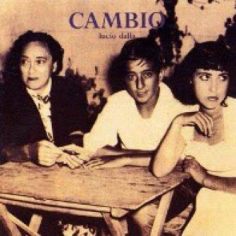 Copertina dell'album Cambio , di Lucio Dalla