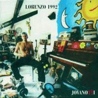 Copertina dell'album Lorenzo 1992, di Jovanotti