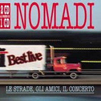 Copertina dell'album Le strade, gli amici, il concerto, di Nomadi