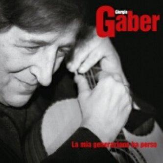 Copertina dell'album La mia generazione ha perso, di Giorgio Gaber