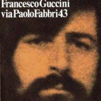 Copertina dell'album Via Paolo Fabbri 43, di Francesco Guccini