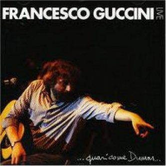 Copertina dell'album ...quasi come Dumas... (live), di Francesco Guccini