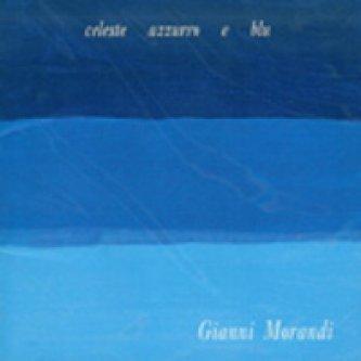 Copertina dell'album Celeste, azzurro e blu , di Gianni Morandi