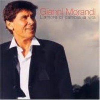 Copertina dell'album L'amore ci cambia la vita , di Gianni Morandi