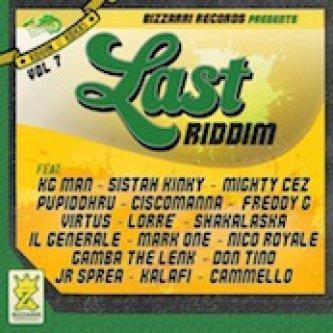 Copertina dell'album Last riddim (Bizzarri records), di KALAFI