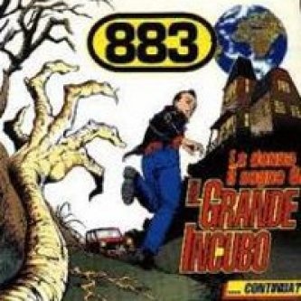 Copertina dell'album La donna il sogno & il grande incubo, di 883