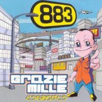 Copertina dell'album Grazie mille, di 883