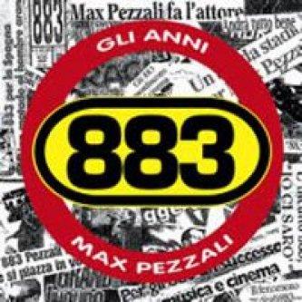 Copertina dell'album Gli anni, di 883