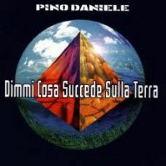 Copertina dell'album Dimmi cosa succede sulla terra, di Pino Daniele