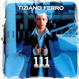 Copertina dell'album 111, di Tiziano Ferro