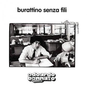 Copertina dell'album Burattino senza fili, di Edoardo Bennato