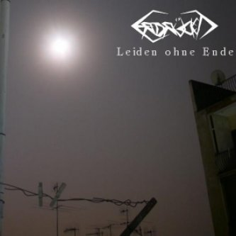 Copertina dell'album Leiden Ohne Ende, di Erdruckt