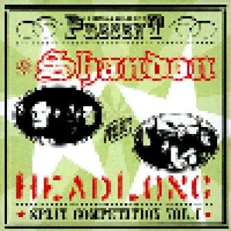 Copertina dell'album Split competition vol. 1 (vs. <b>Headlong</b>), di Shandon