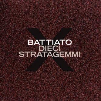 Copertina dell'album Dieci Stratagemmi, di Franco Battiato