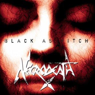 Copertina dell'album Black As Pitch, di Necrodeath