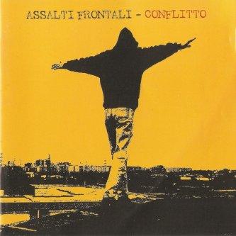 Copertina dell'album Conflitto, di Assalti Frontali