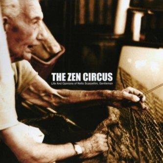 Copertina dell'album Vita e opinioni di Nello Scarpellini, gentiluomo, di The Zen Circus